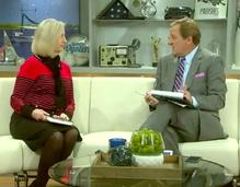 TV interview on Tom Benson biography, by Kathy Finn, with Mike Hoss, WWL-TV