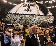 Saints, Jeff Duncan, Tom Benson, Kathy Finn